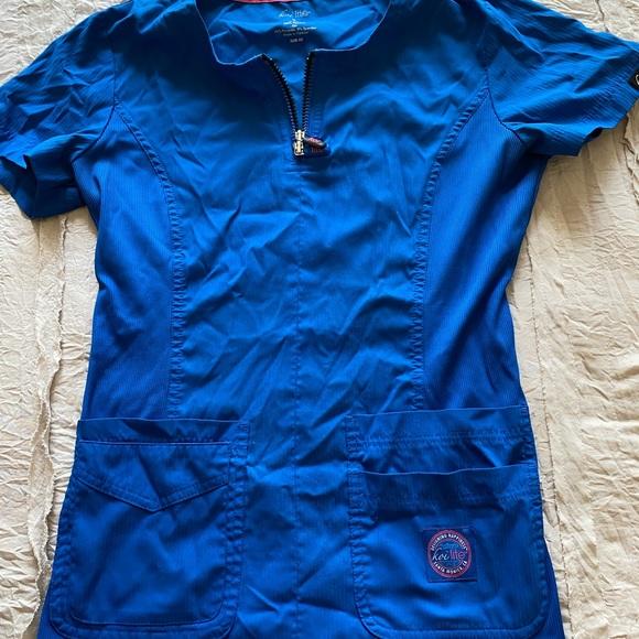 Royal Blue Koi Lite Top
